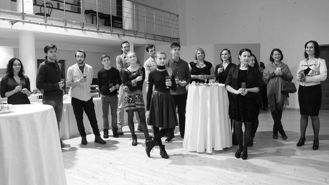 Фуршет на театральной премьере в «ШДИ»