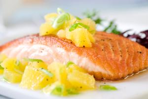 Кейтеринг-меню: Горячие рыбные блюда