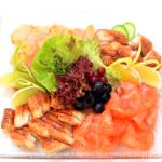 Кейтеринг: рыбная тарелка